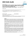 An investigation of the population impact of variation in HbA1c levels in older people in England and Wales: from a population based multi-centre longitudinal study