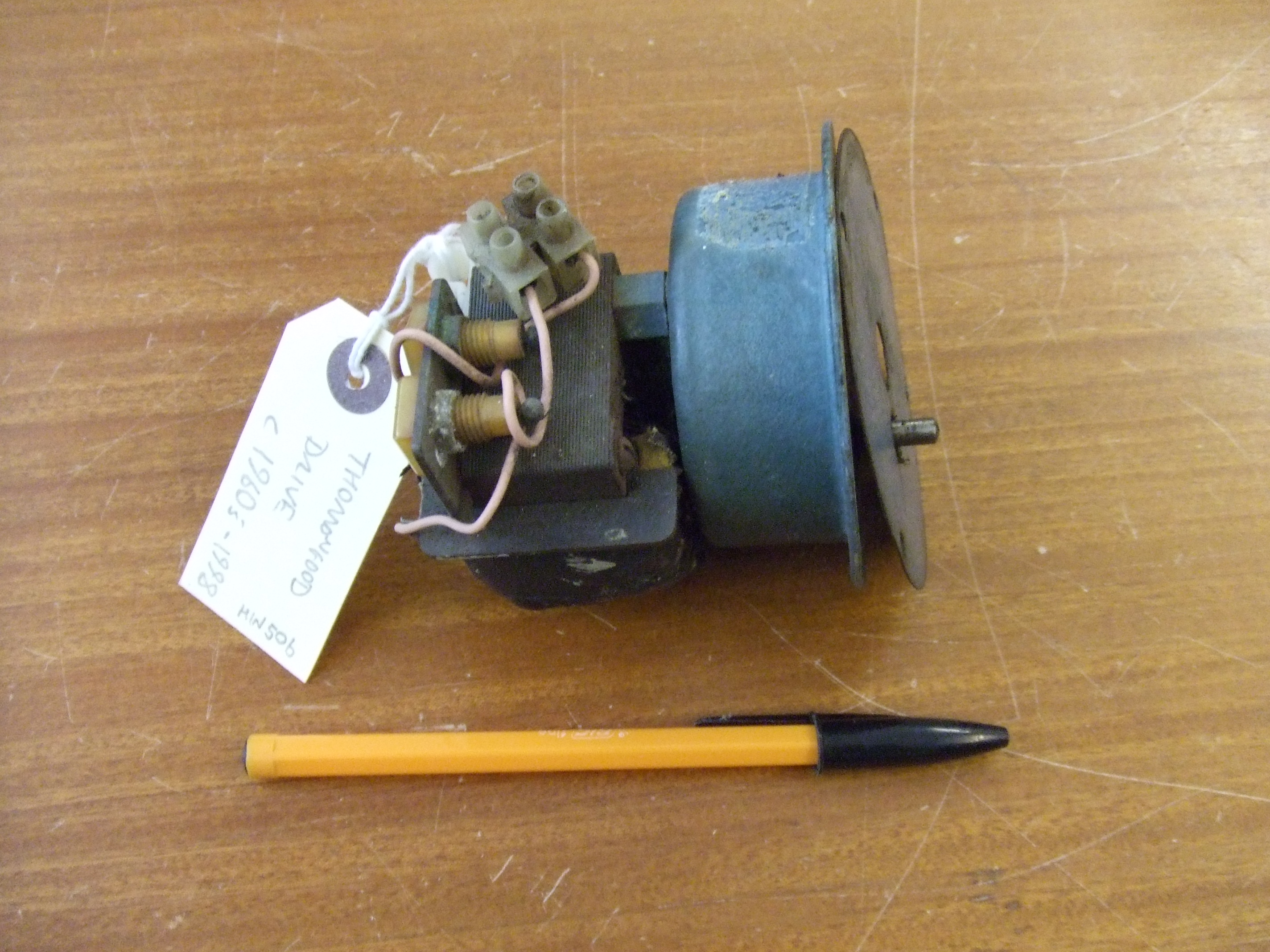 Electric Motor From Thorrowgood Telescope