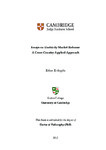 Essays on electricity market reforms: a cross-country applied approach