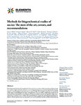 Methods for biogeochemical studies of sea ice: The state of the art, caveats, and recommendations