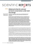 Global priorities for national carnivore conservation under land use change