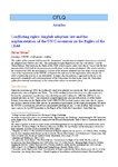 Conflicting rights: English adoption law and the implementation of the UN Convention on the Rights of the Child