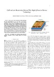 GaN on Low-Resistivity Silicon THz High-Q Passive Device Technology