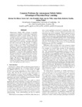 Concrete Problems for Autonomous Vehicle Safety: Advantages of Bayesian Deep Learning