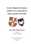 Nuclear Magnetic Resonance Studies of Ion Adsorption in